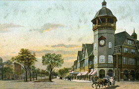 Coolidge Corner, circa 1905
